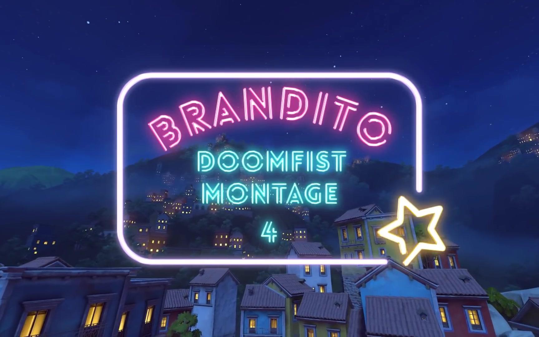 【Brandito】守望先锋 北美对空铁拳brandito天梯集锦 1-6期