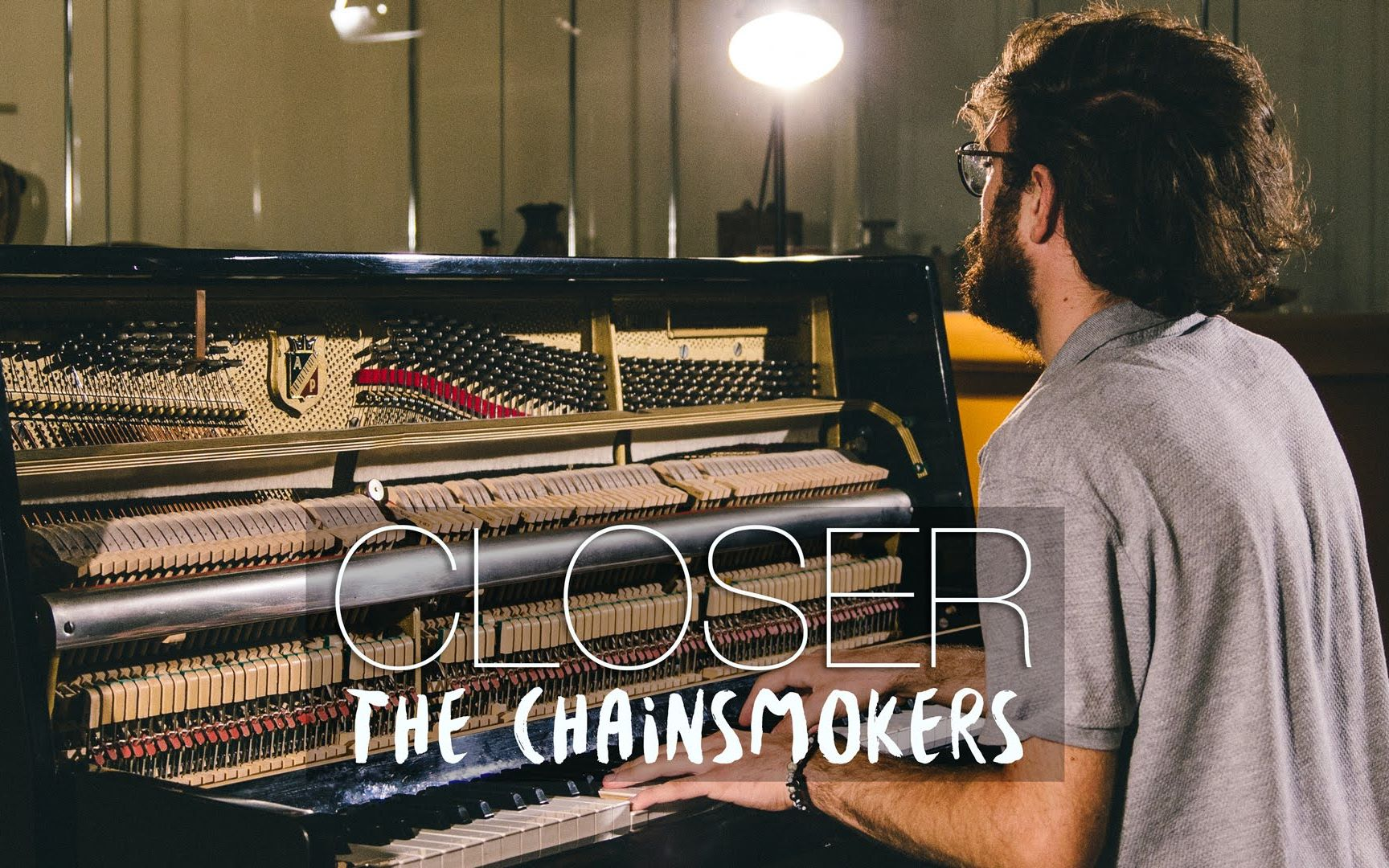 closer 钢琴曲 the chainsmokers 烟鬼 钢琴