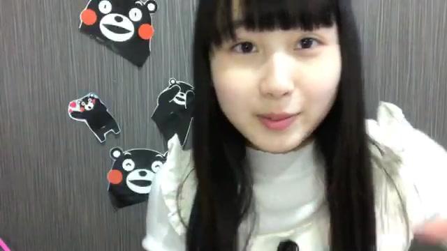 井上 瑠夏(SKE48 チームS) (2018年01月15日21時32分09秒) SHOWROOM