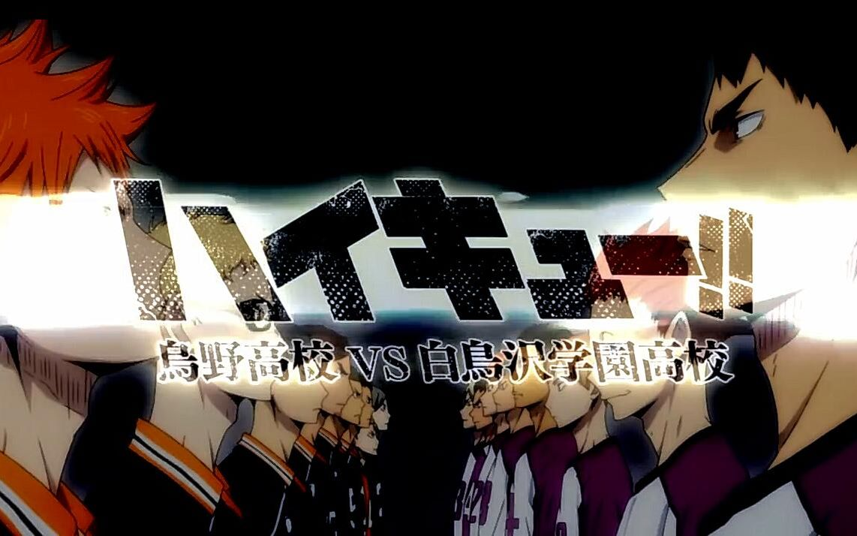 【MAD/授权转载】排球少年 _烏野高校VS白鳥沢学園高校_【HD】