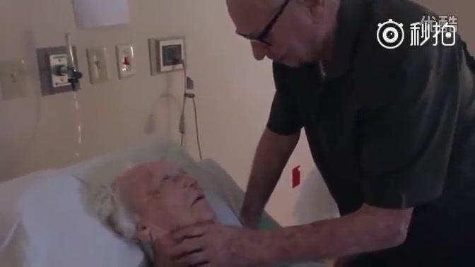 【妆师】老爷爷为93岁临终妻子唱情歌,感动到哭瞎u0026微博@妆师