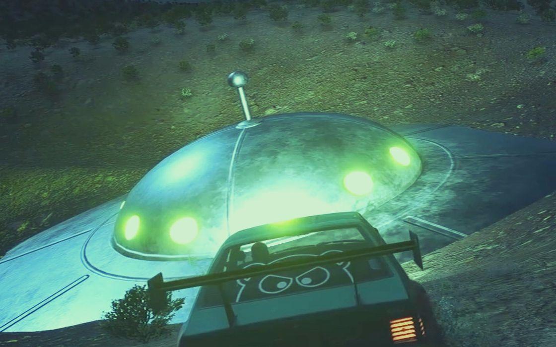 《极品飞车20》外星人彩蛋位置介绍