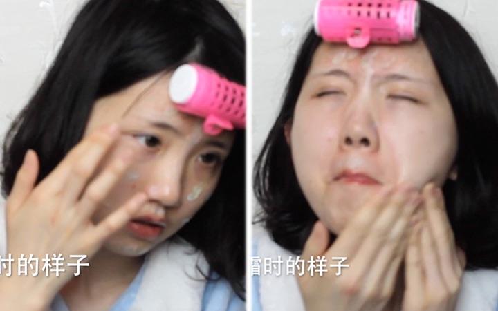 你想象中你化妆时的样子vs实际上你化妆时的样子,只有化妆的人才能懂的痛!