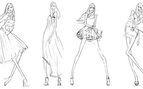 手绘服装设计上色技巧基础教程