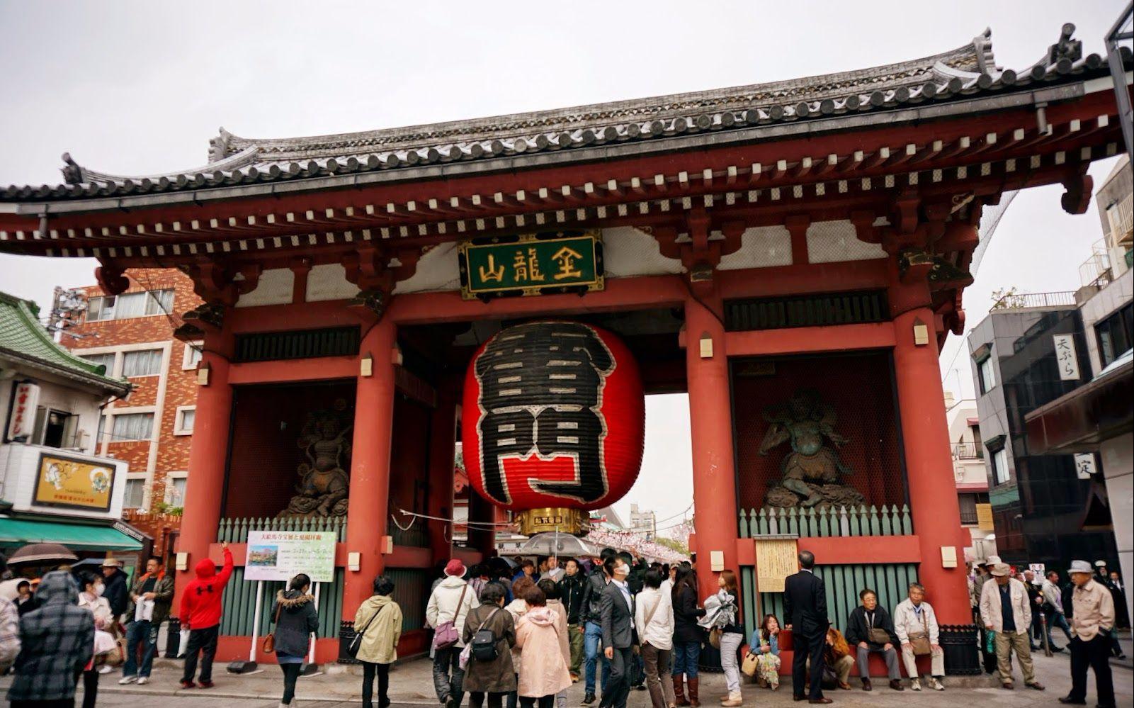 do桑的留学日记19:东京浅草寺