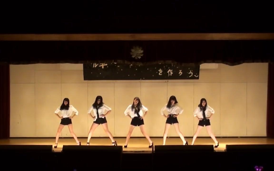 【文化祭】日本高校 女学生们跳舞'很有感觉'!
