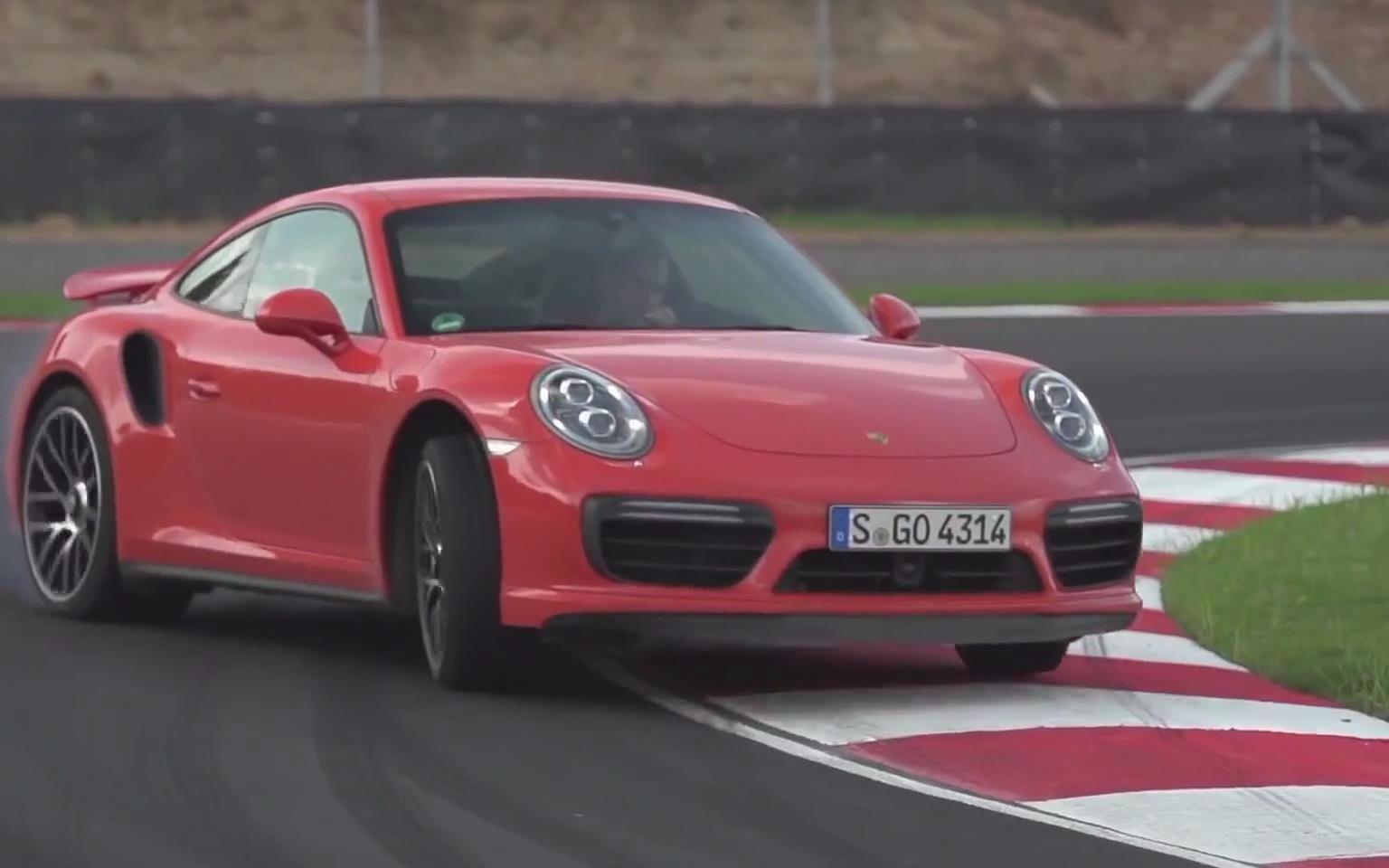 【海外试驾】保时捷911 turbo s 赛道试驾