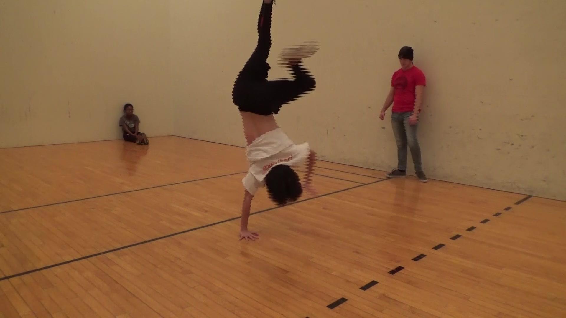 美猴王Monkey King/练习片段。街舞。bboying