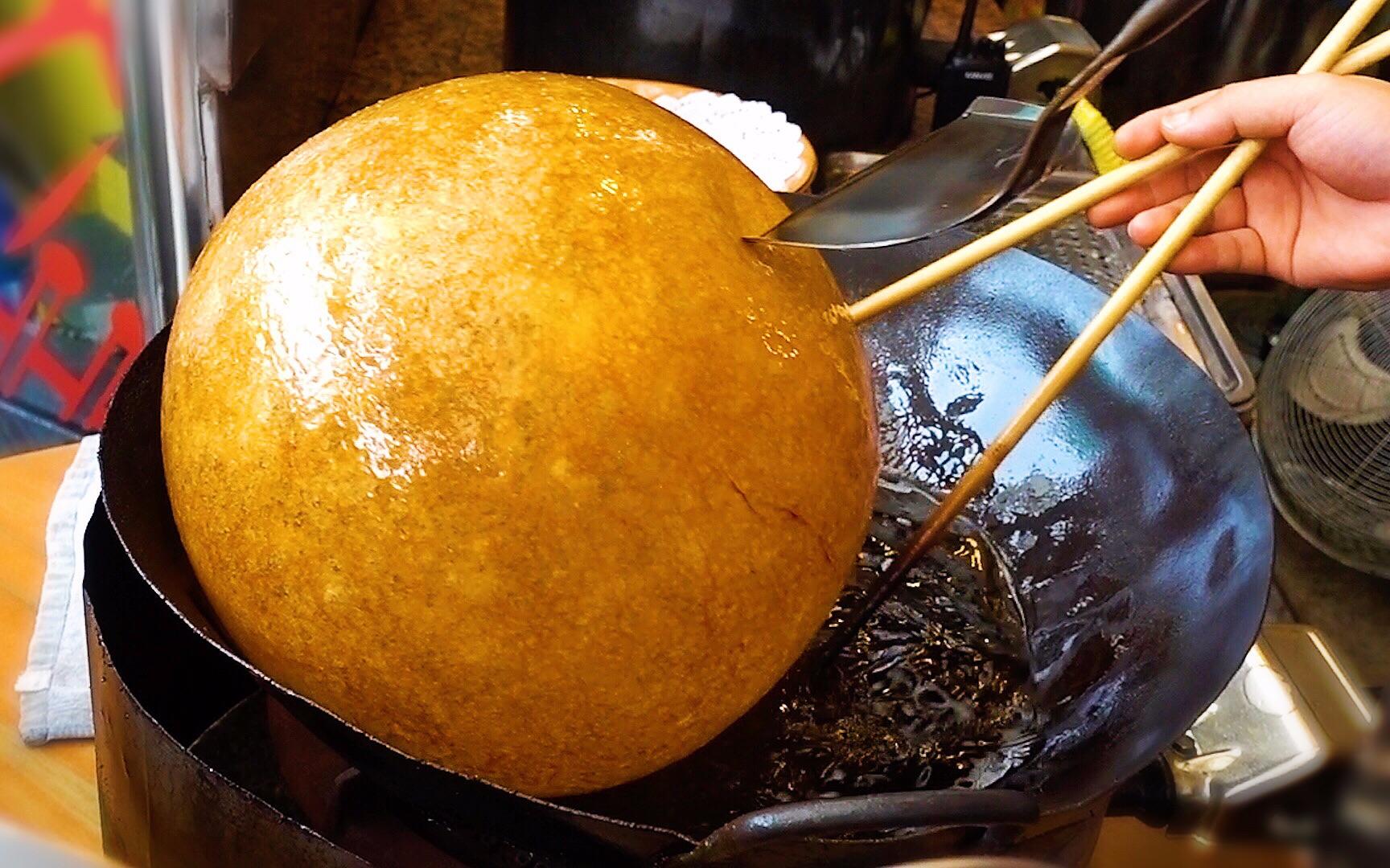 第一次见到膨胀成这样的卡路里,店里所有人都在吃!广州美食VLOG