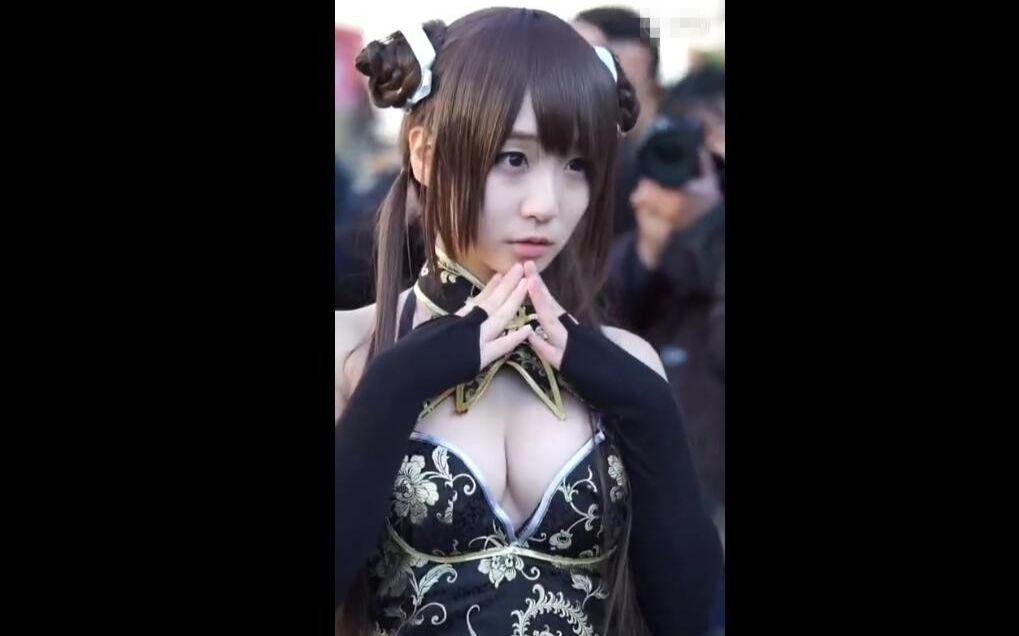 日本知名Coser伊织萌cos死或生绅士们快来舔屏