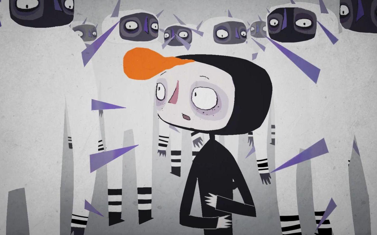 未来人类为抵御新冠感染,全身长满尖刺,没有刺的男孩成了异类