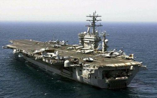 美国海军-艾森豪威尔号航空母舰-飞行训练图片