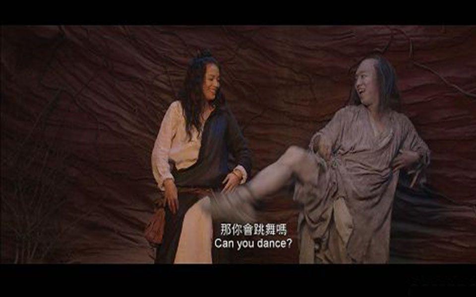 黄渤教舒淇跳舞忍不住笑场,竟然成了《西游降魔篇》的经典之一