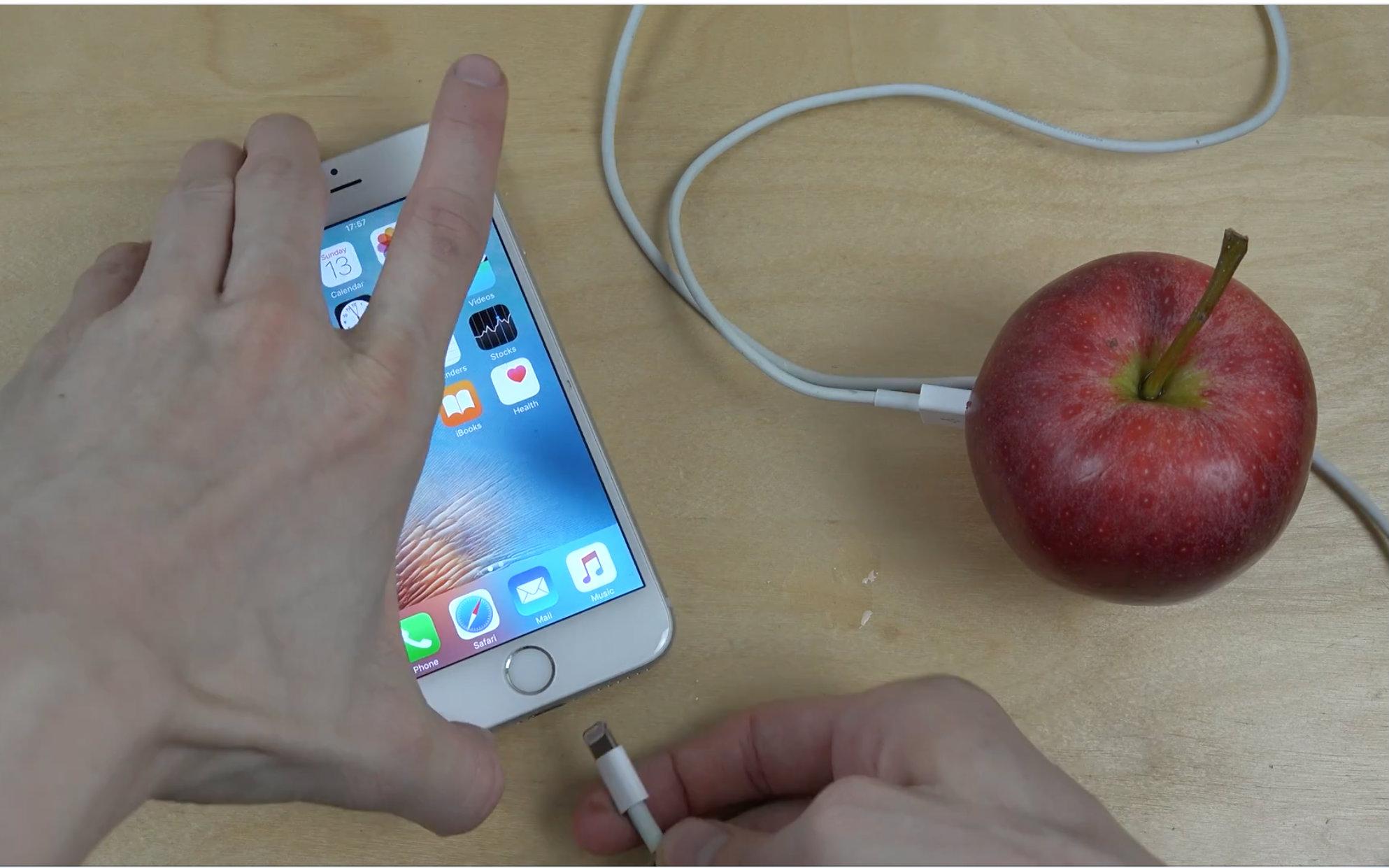 能否用苹果给iphone 6s充电