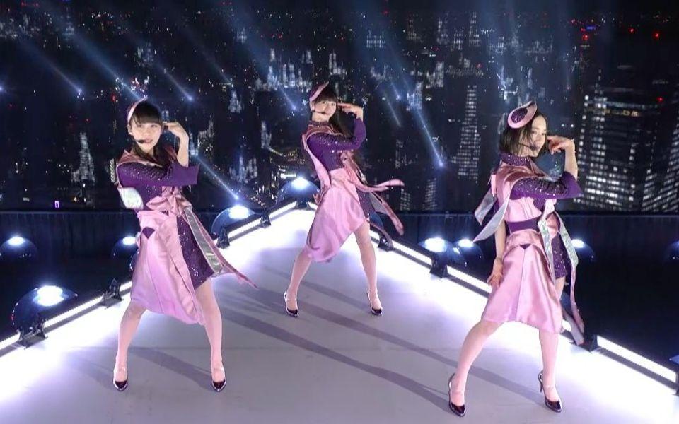 """不愧是日本""""最費電""""的女團!只是簡單跳個舞,整個東京都點亮了"""