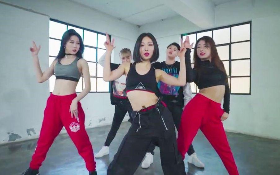 【1M舞室】Lia+May+Eunho合作Microdot超帅官方编舞KBB