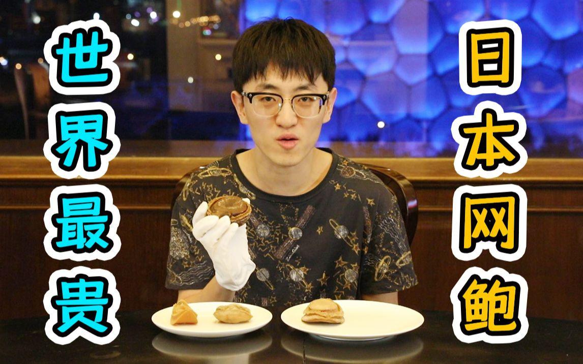 试吃16800元一只的日本网鲍,一顿饭两万结账时倒吸一口凉气