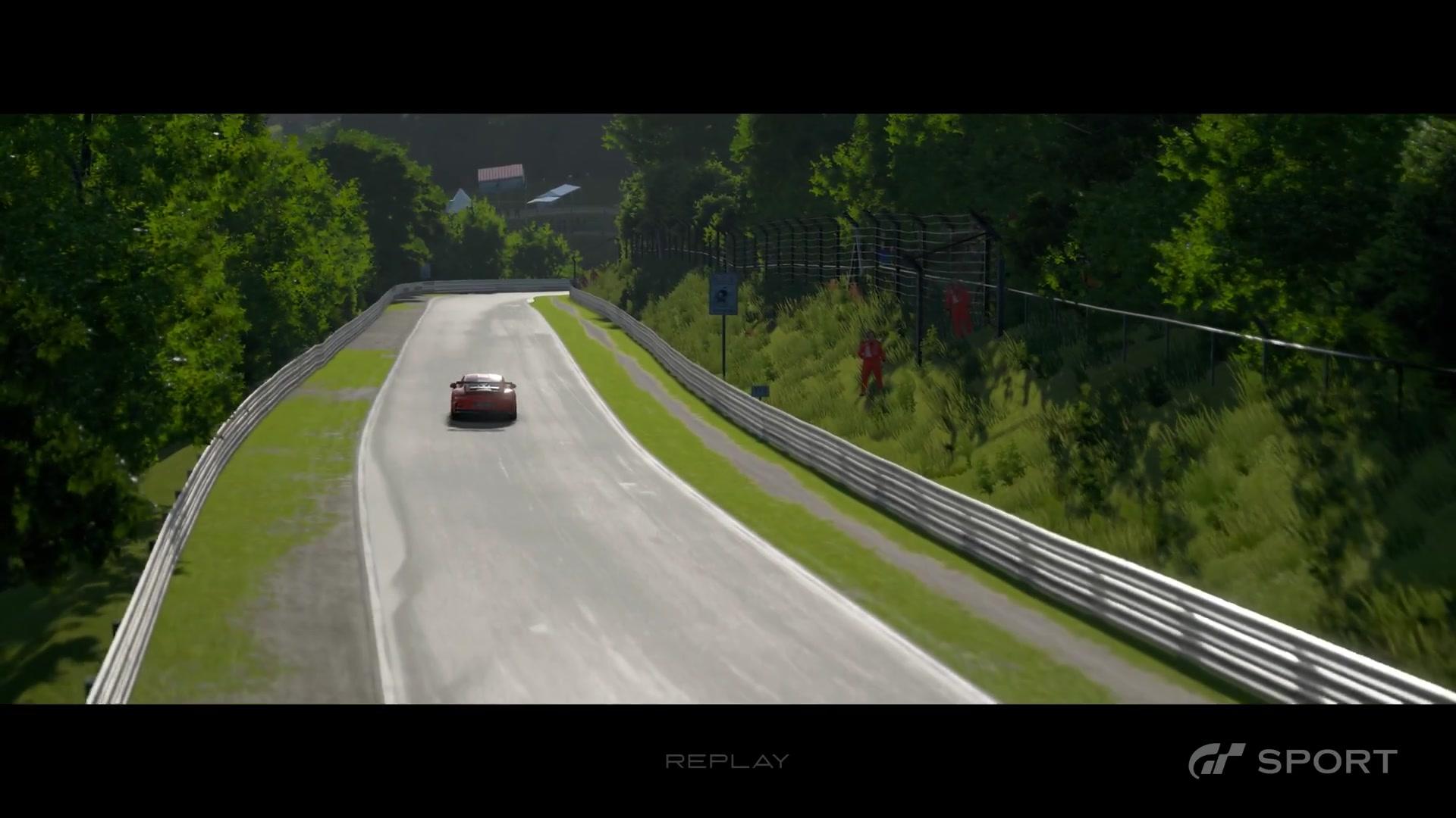 gt赛车 sport 保时捷 911 gt3 rs @ nurburgring nordschleife