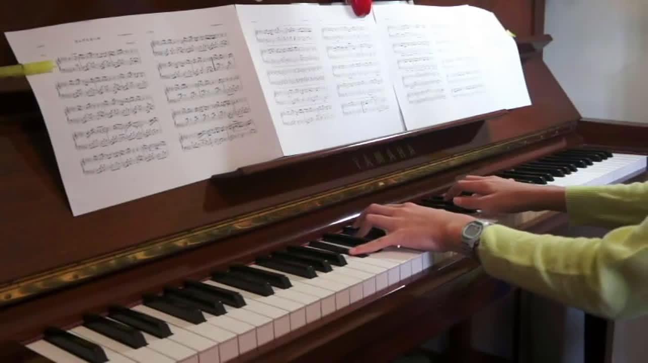 【你的名字】【钢琴】别来无恙(内含琴谱)图片