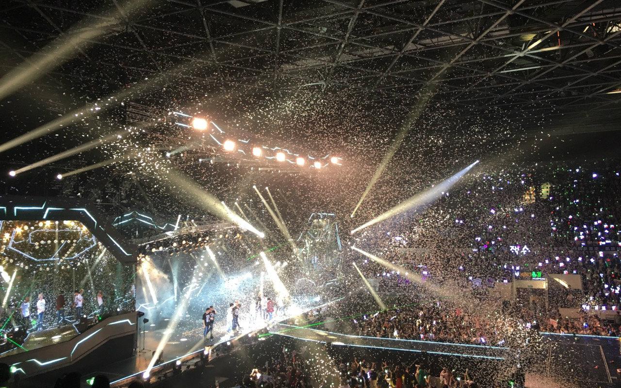 got7in广州演唱会记录视频图片