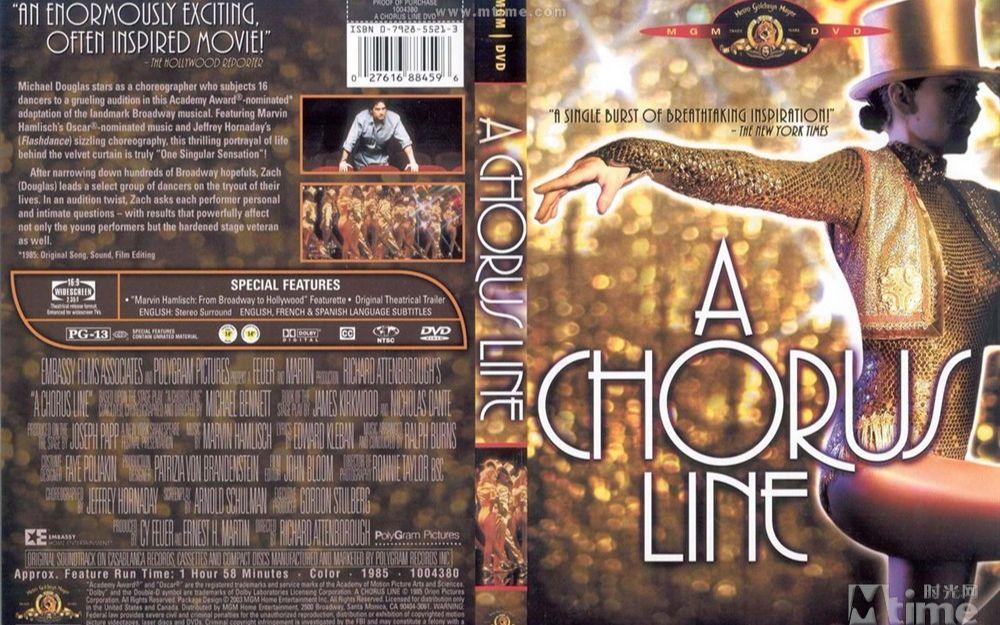A CHORUS LINE 歌舞线上/大歌舞/平步青云(1985)
