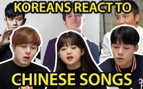 韩国人听中文歌曲猜歌手(朴树、陈奕迅、周杰