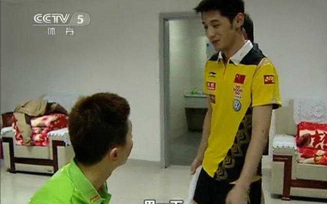 【cctv5体育世界】 20110308中国乒乓球队专访