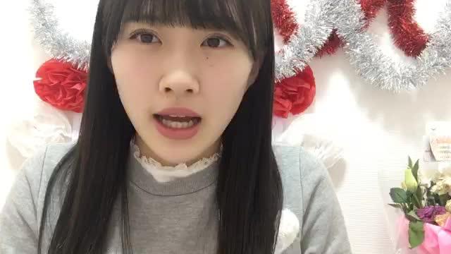 山根 涼羽(AKB48 研究生) (2018年01月10日21時00分41秒) SHOWROOM