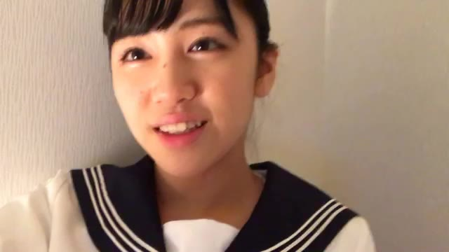 SHOWROOM STU48 磯貝 花音 2017年08月12日19時46分22秒 (超短配信?)