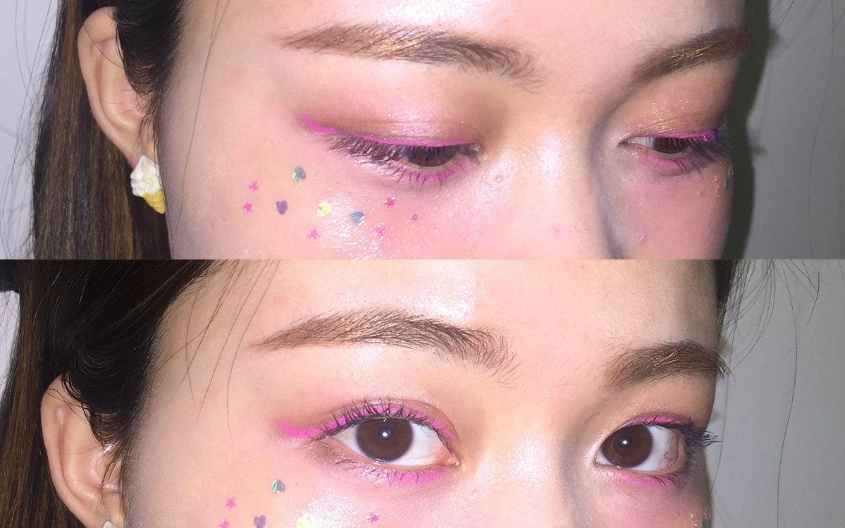 魅惑少女妆_时尚 美妆 2016-04-12 09:57  硬币 收藏 少女nia发消息 一个化妆也