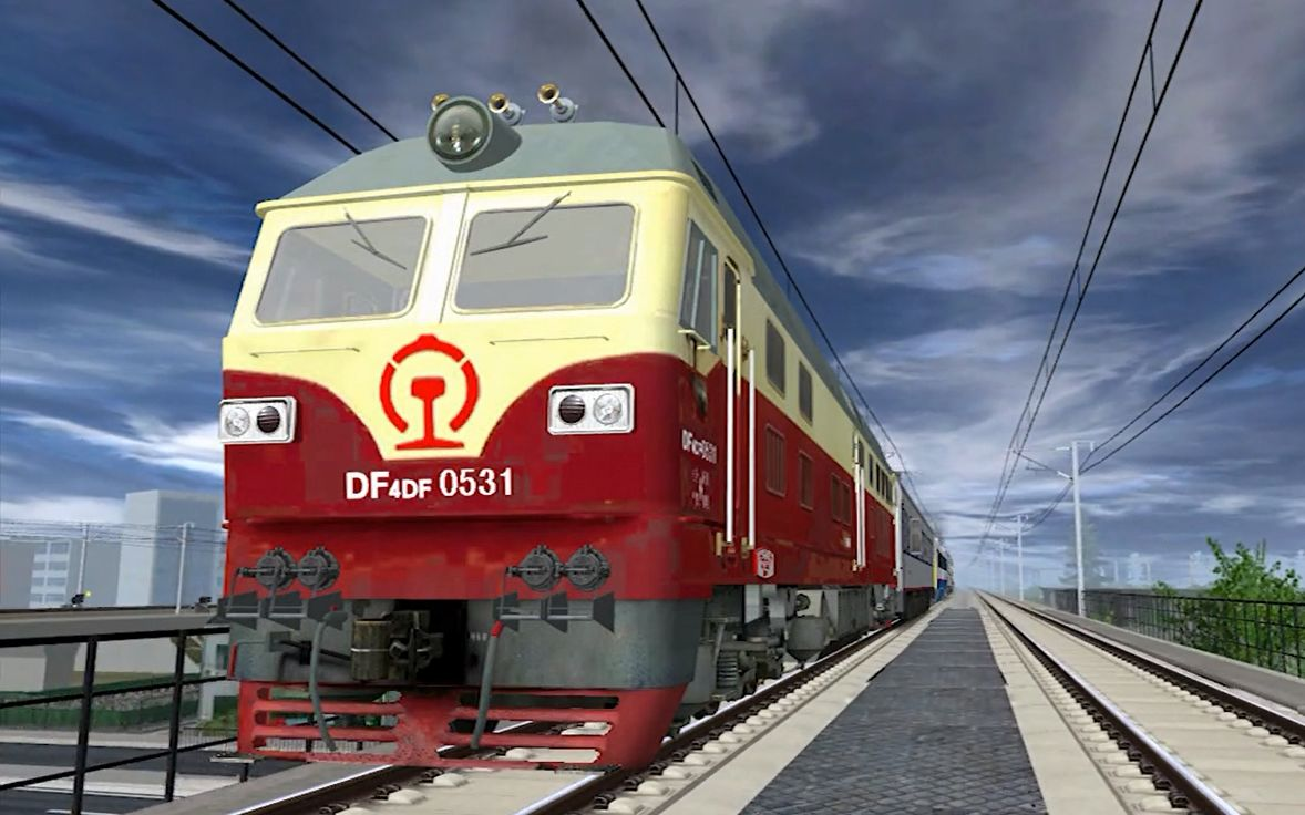 �yf�y�%9df_saunter trainz df4df 机车供电先驱 (by:东风4df-0351)