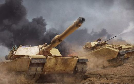 【装甲战争】(更新T14)夭寿啦!欧美主战坦克也来参加坦克现代两项比赛啦!