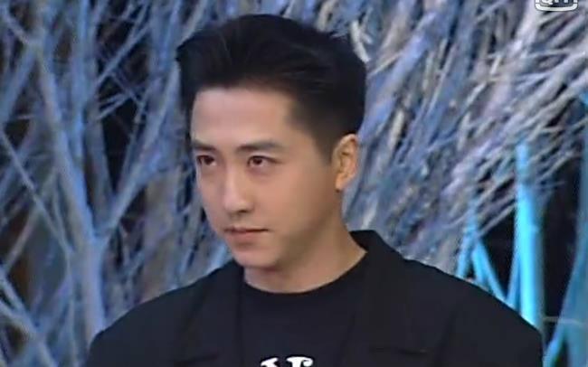哈林庾澄庆92年春晚《让我一次爱个够》