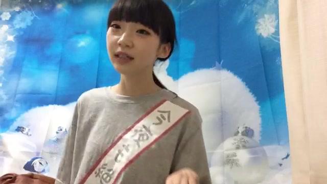 荻野 由佳(NGT48 チームNlll) (2017年12月11日23時20分55秒) SHOWROOM