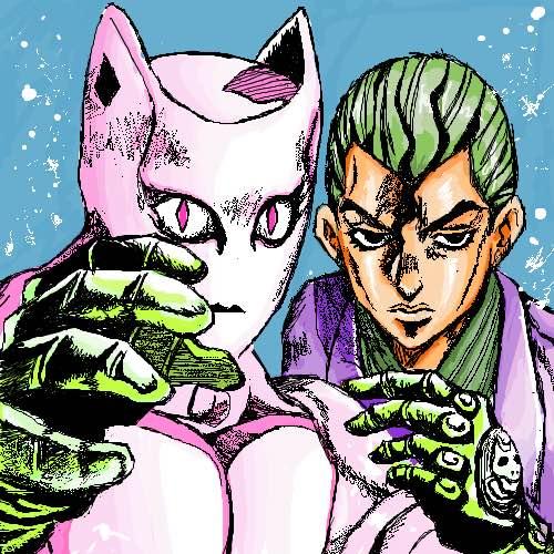 漫画中的吉良吉影图片