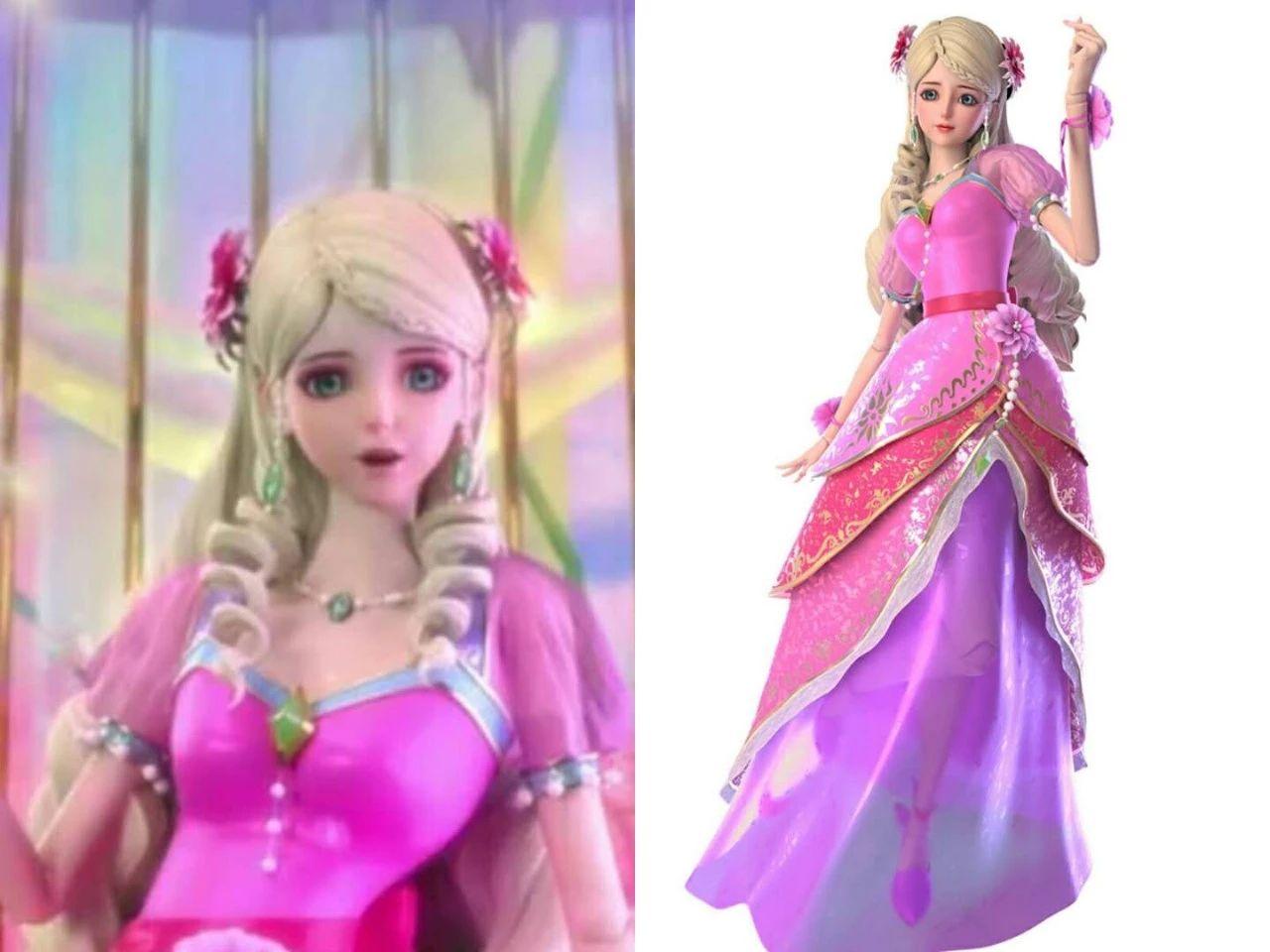 罗丽是仙境的公主,也是《叶罗丽》的公主,因为不管在哪个角落都能图片