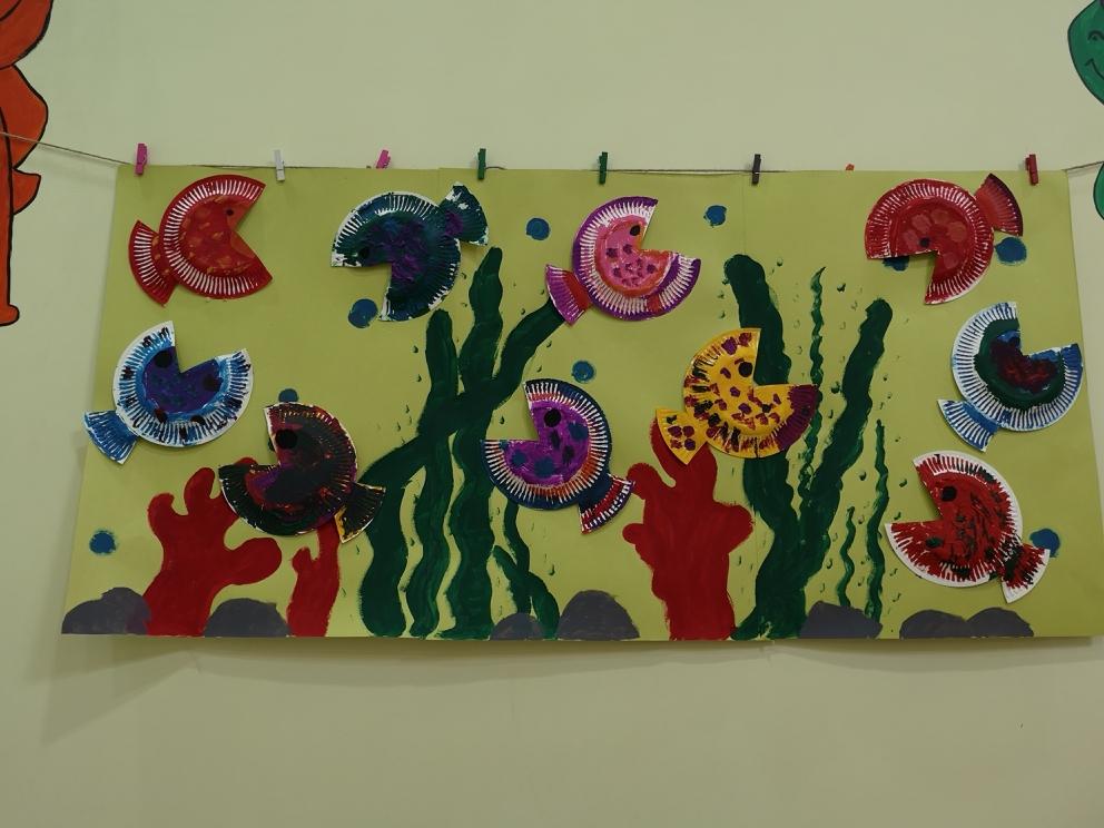 幼儿手工,创意美术课图片