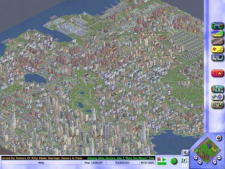 《模拟城市3000》游戏画面图片