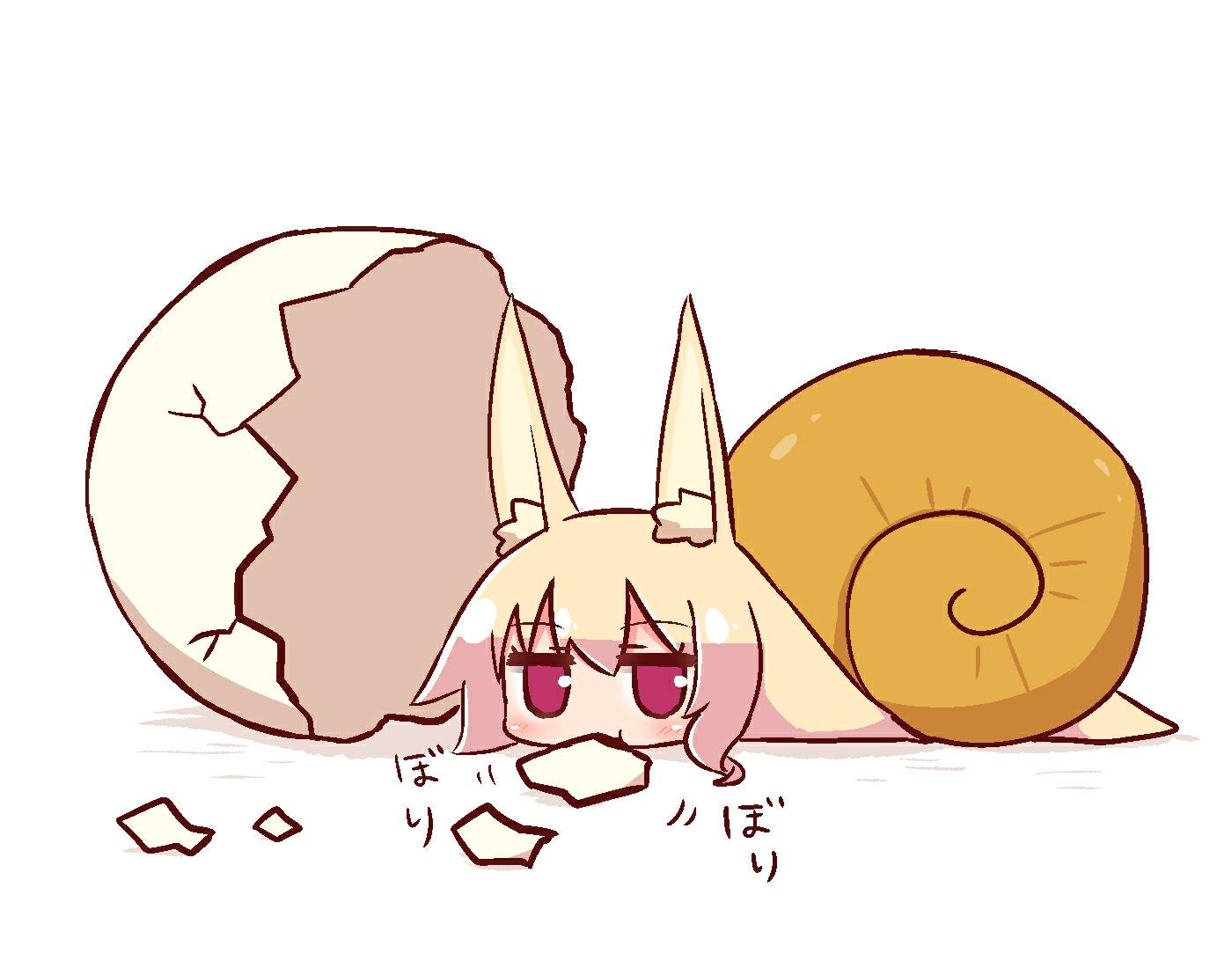 kemomimi酱插画图片