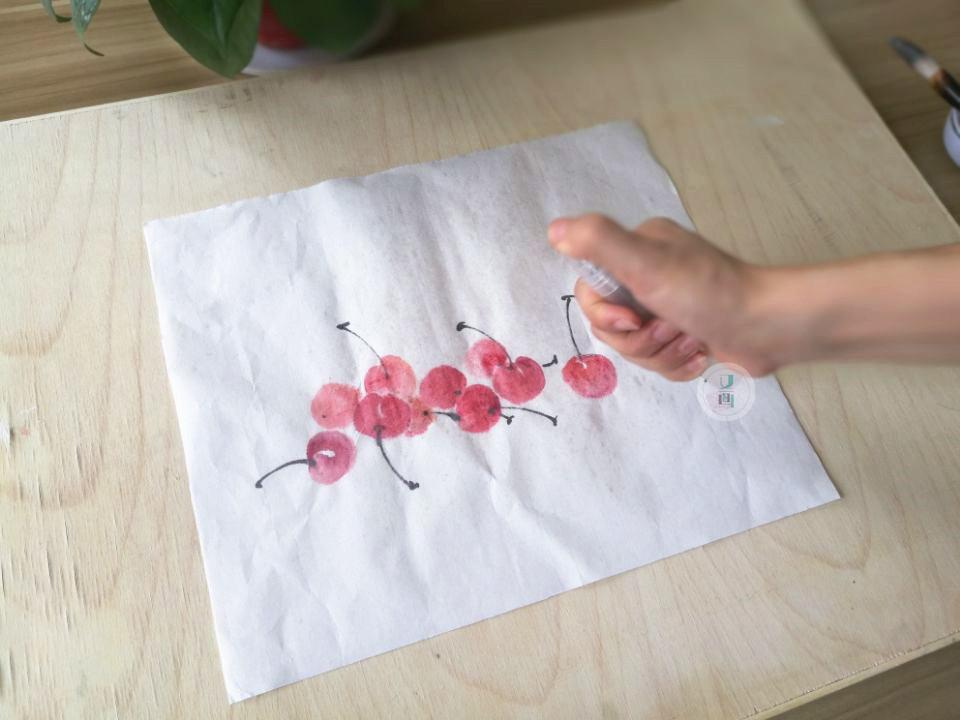 教程国画|国画托裱画心步骤教程量热仪使用图片