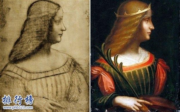 达芬奇最诡异的画_岩间圣母的诡异之处,揭秘达芬奇十大诡异的画