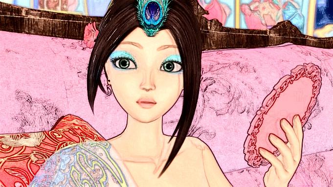 """当叶罗丽仙子成为""""蜡笔像"""",毒娘娘神情忧伤,冰公主藏了一个人图片"""