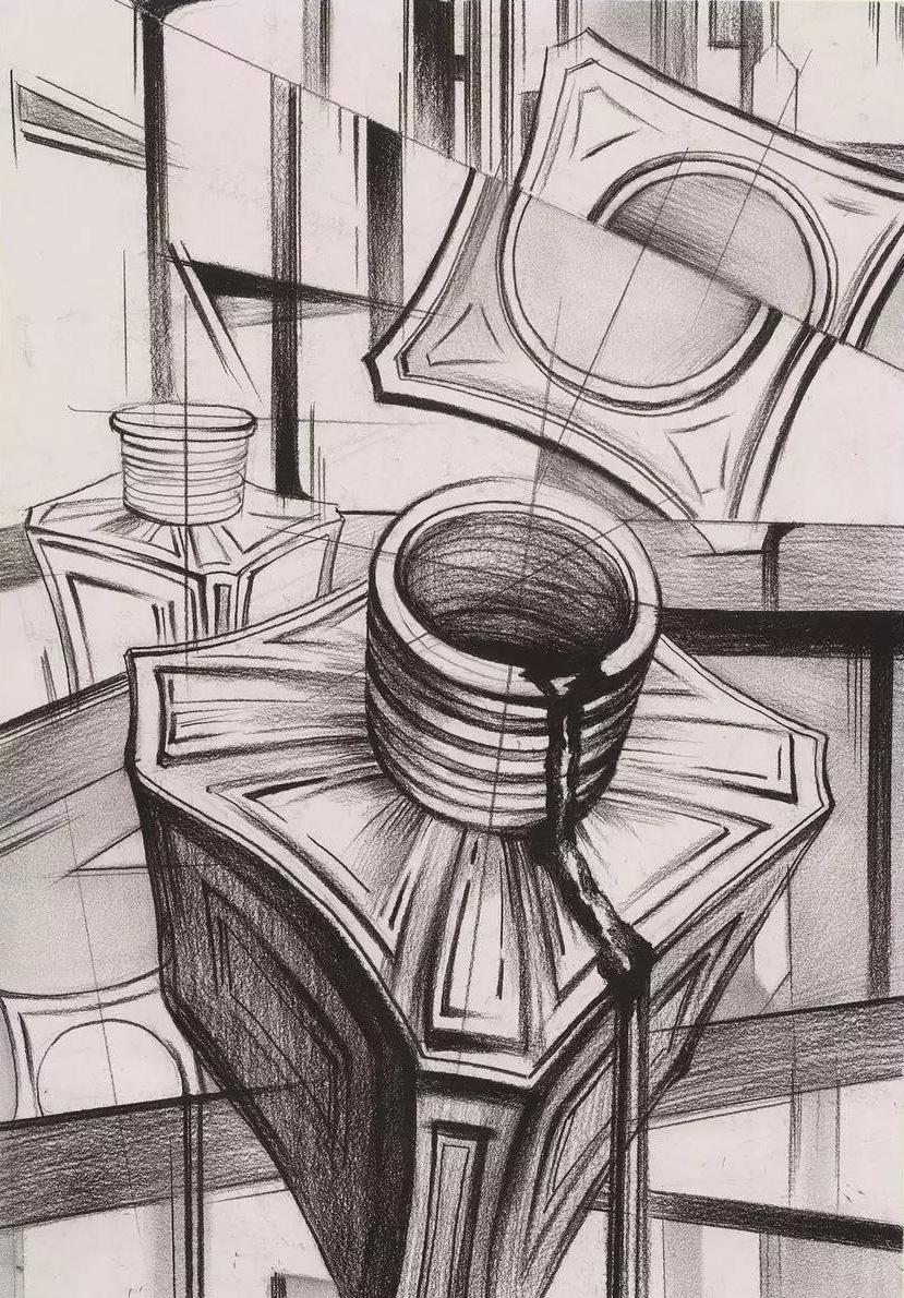 川美设计结构素描素材集锦和优秀设计作品赏析图片