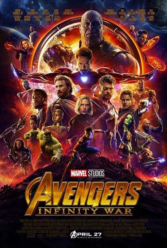 《复仇者联盟3》首映破3亿,这些海报帅爆了!