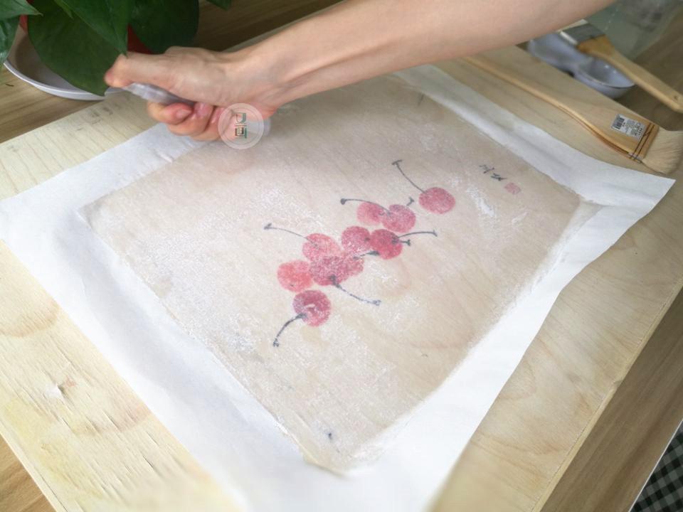 教程步骤|国画托裱画心国画教程手绘眉毛图片