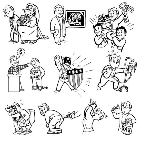 角色扮演简笔画_辐射:一个核战后的角色扮演游戏(上)