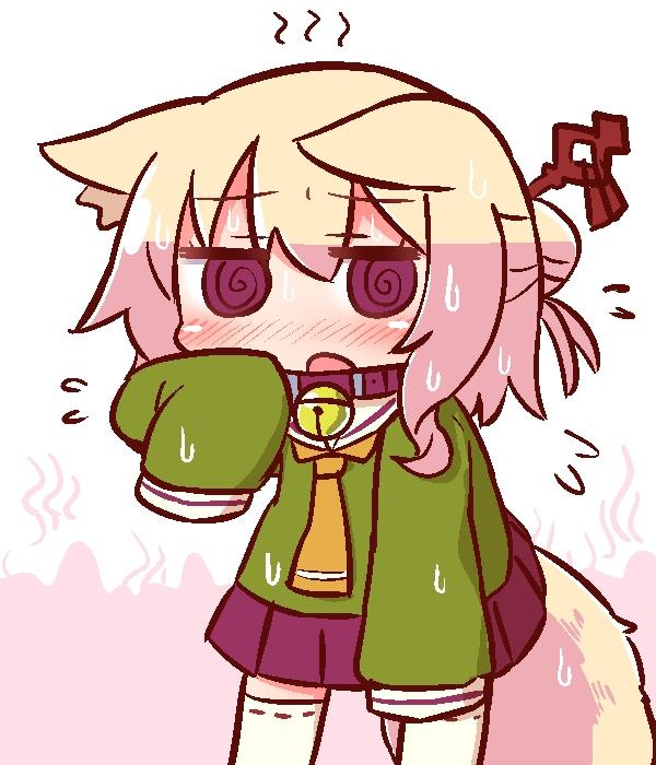 【ケモミミちゃん】兽耳酱小狐狸表情包收集 画师:naga u/ながユー