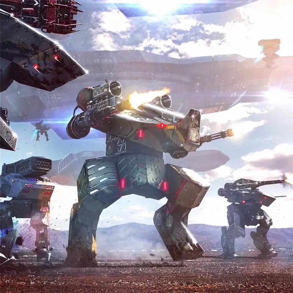 贝贝游戏机器人衹b*_《war robots》游戏早期机器人