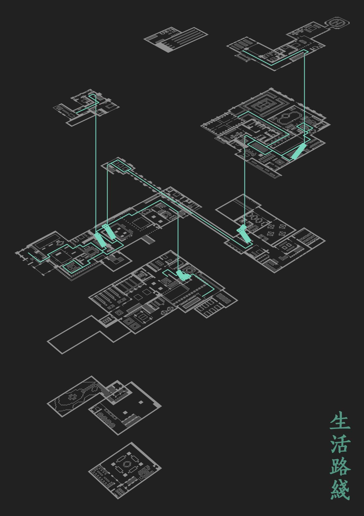 【我的别墅现代建筑群】海岛施工庭院--源梦岛流程度假别墅世界图片