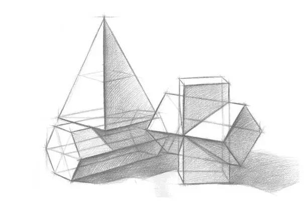 画好素描,结构透视非常重要,值得收藏学习